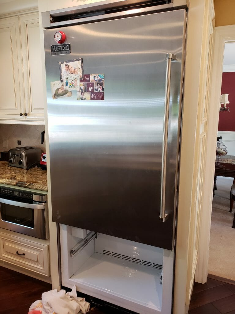 Viking Vcbb536 Freezer Frost Buildup And Warm Refrigerator